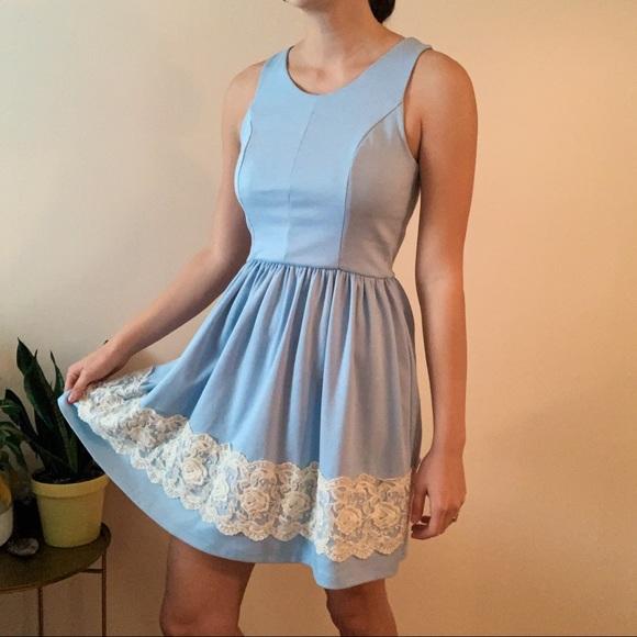 Alya Dresses & Skirts - Light Blue Dress